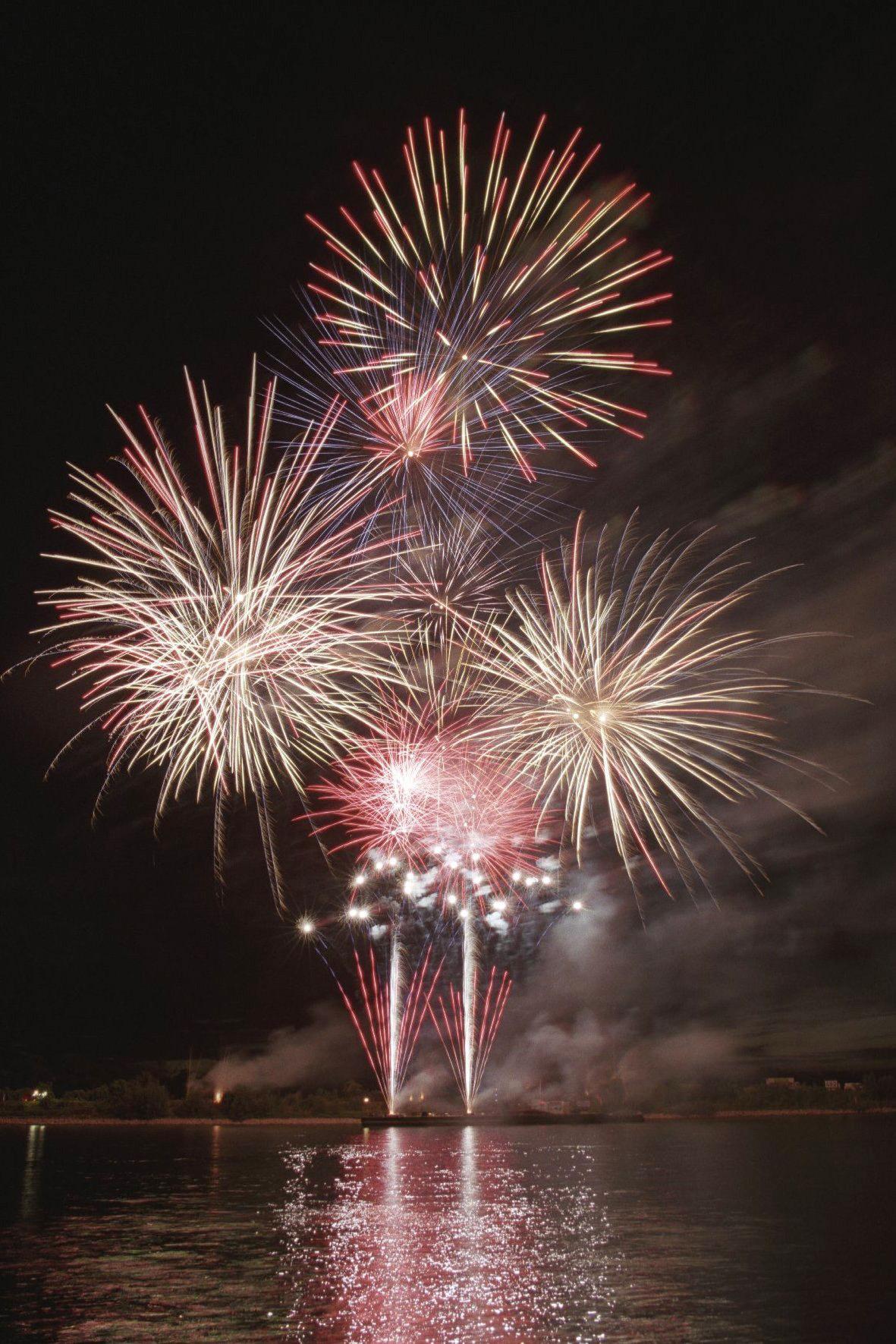 Klassisches Feuerwerk