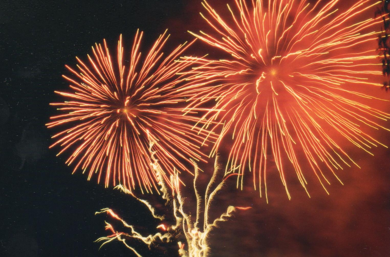 Spanisches Feuerwerk
